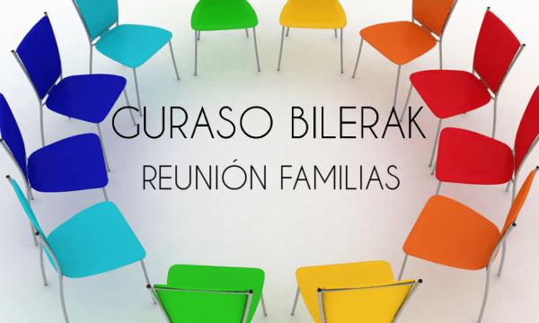 REUNIONES FAMILIAS. 8, 17 y 23 de OCTUBRE