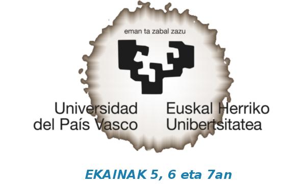 UNIBERTSITATERA  SARTZEKO  EBALUAZIOA  2019!