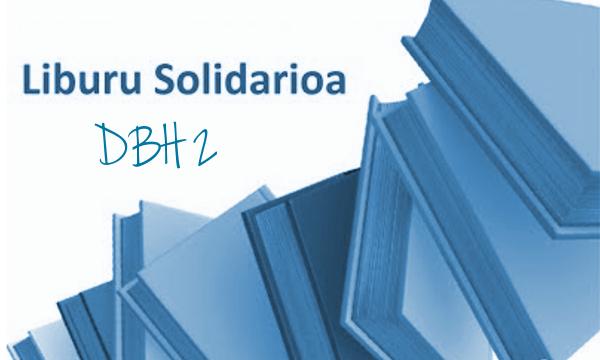 LIBURU  SOLIDARIOA  PROGRAMA  2019-2020  IKASTURTEAN!