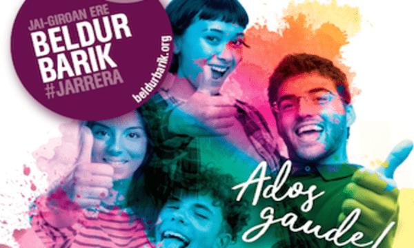 El video de los alumnos de DBH2F ha sido premiado en el concurso Beldur Barik