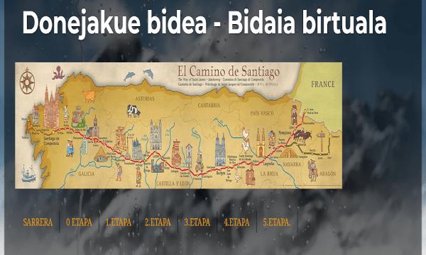 DONEJAKUE  BIDEA  –  BIDAIA  BIRTUALA